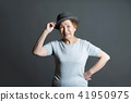 노인 여성의 초상화 41950975