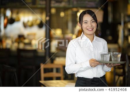 아르바이트, 알바, 여성 41952408