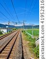시가 JR 고세이 선 近江中庄 역 부근 41952816