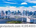 """Tokyo Metropolis"" Tokyo Waterfront / Urban Landscape ""Summer"" 41954003"