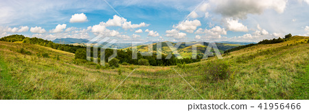 panorama of mountainous TransCarpathia countryside 41956466