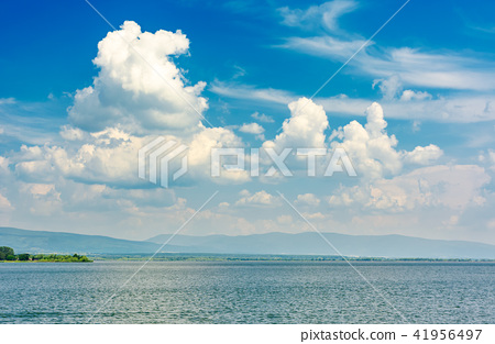 gorgeous cloudscape over the Zemplinska Sirava 41956497