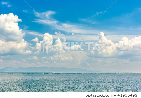 gorgeous cloudscape over the Zemplinska Sirava 41956499