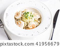 pasta, shrimp, seafood 41956679