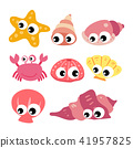 marine life vector collection design 41957825