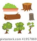 ต้นไม้,เวกเตอร์,ออกแบบ 41957869