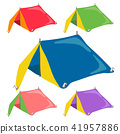 tent vector collection design 41957886