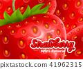 Strawberry background 41962315