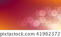 vector, hexagons, hex 41962372