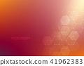 vector, hexagons, hex 41962383