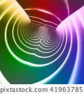 Rainbow colors technology background 41963785