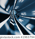 Abstract speed tunnel 41963794