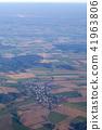 가을 경치 태풍 부감 재해 농업 시골 알프스 국경 유럽 유럽 자유 휴식 로맨틱 41963806