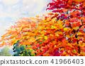 Painting, flower, watercolor 41966403