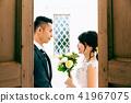 포토 웨딩 결혼 신랑 신부 41967075