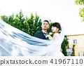 照片婚禮婚姻新娘和新郎 41967110
