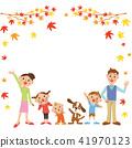 家庭和秋葉框架 41970123