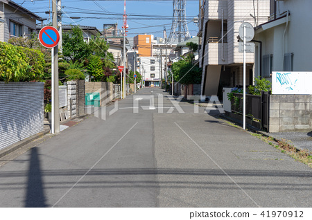 日本住宅区的风景 41970912