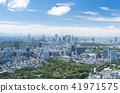 Tokyo landscape · wide · Shinjuku Yoyogi Harajuku Aoyama 41971575