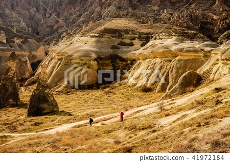 Rock formation in Cappadocia of Turkey 41972184