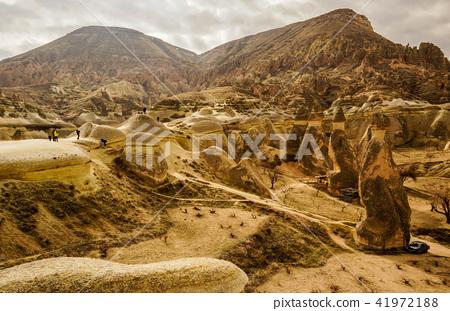 Rock formation in Cappadocia of Turkey 41972188