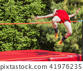 High jumping outdoors 41976235