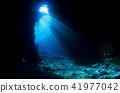 เกาะโอกินาว่าเกาะหลัก Maniwada แหลมสีน้ำเงินถ้ำ blue 41977042