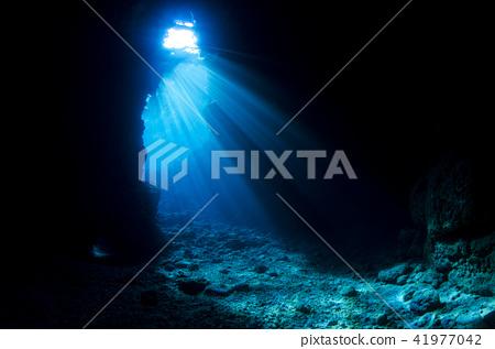 沖繩主島Maniwada海角藍洞③ 41977042