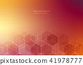 vector, hexagons, hex 41978777