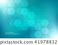 vector, hexagons, hex 41978832