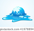 Melting world. Concept global warming 41978894