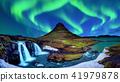Northern Light, Aurora borealis at Kirkjufell. 41979878
