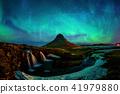 aurora, mountain, landscape 41979880
