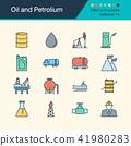 Oil and Petrolium icons.  41980283