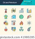 Oil and Petrolium icons. 41980285