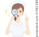 放大鏡 偷看 護士 41981389