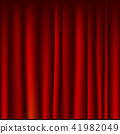drapery fabric red curtain seamless template 41982049