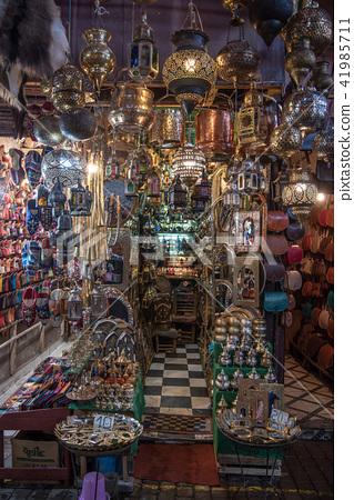 摩洛哥馬拉喀什麥地那露天市場(市場) 41985711