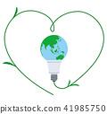 earth, globe, bulb 41985750
