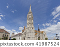 matthias church, gothic style, cathedral 41987524