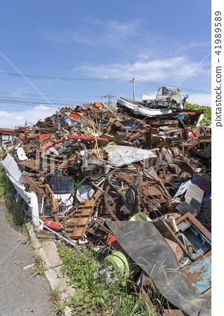 industrial waste, scrap, scrapping 41989589
