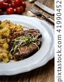 Grilled pork neck 41990452
