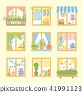창문, 윈도우, 창가 41991123