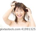 여성, 여자, 목욕 41991325