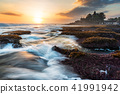 Seascape, Tanah Lot Temple in Bali, Indonesia 41991942