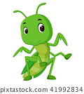 Praying mantis cartoon 41992834