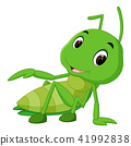 Praying mantis cartoon 41992838