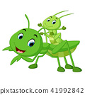 Praying mantis cartoon 41992842
