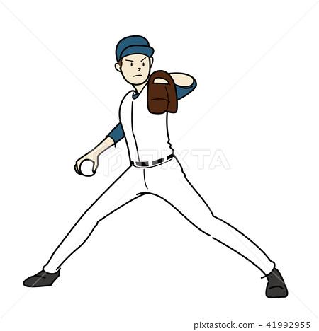 棒球运动员 41992955