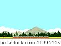 火車景觀 41994445